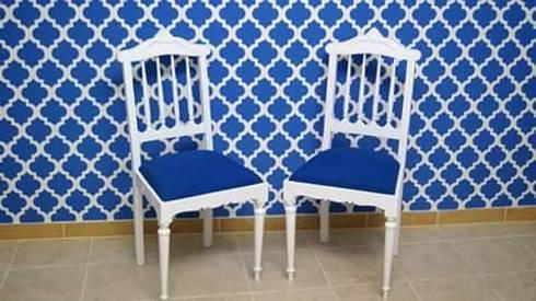 Our Chairs: Escritório e loja  por Shanna's Stuff