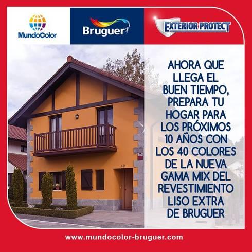 FACHADAS: Casas de estilo moderno por MC CONSERVACIÓN Y RESTAURACIÓN, S.L.