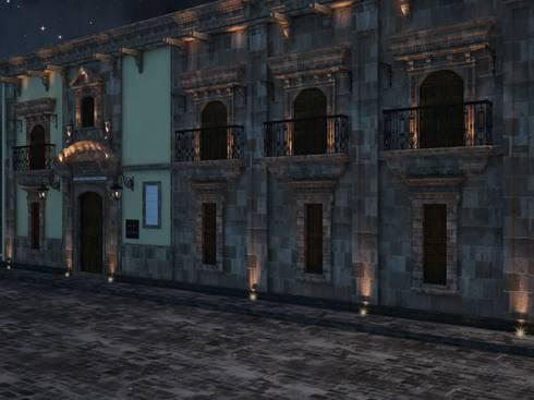 Vista nocturna perspectiva:  de estilo  por MRamos