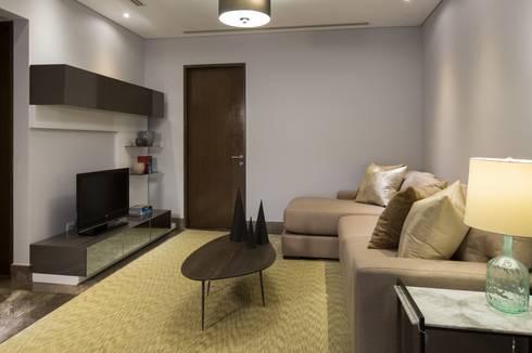 Sala : Salas de estilo moderno por URBN