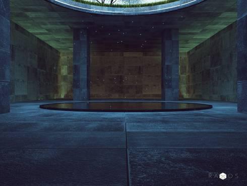 Espacio inspirado en Tadao Ando:  de estilo  por MRamos