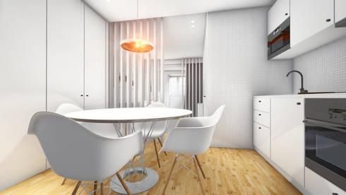 Revisão de projecto - Cozinha: Cozinhas modernas por Arq. Duarte Carvalho