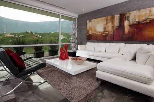 611: Salas de estilo moderno por URBN