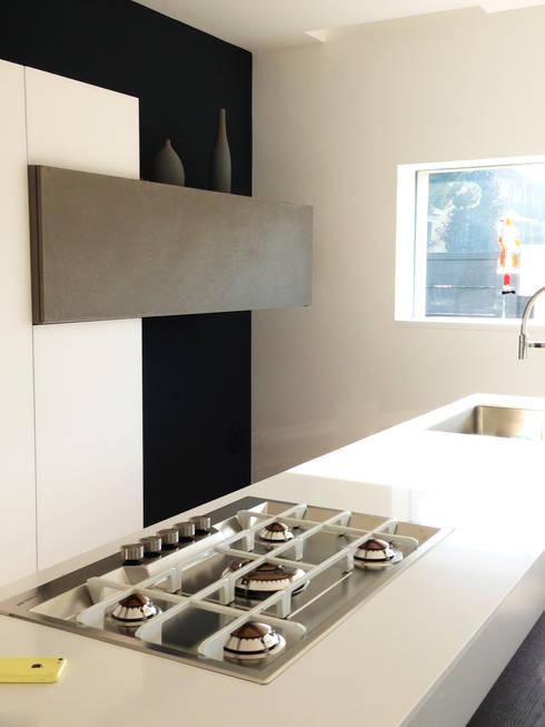 MONO C+P | kitchen: Cucina in stile  di Studio GIOLA | Casorezzo MI