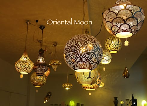 orientalische boden tisch lampen von oriental moon homify. Black Bedroom Furniture Sets. Home Design Ideas