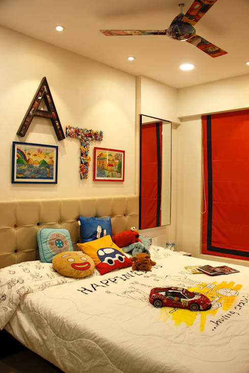 Serenity home!: modern Nursery/kid's room by Neha Changwani