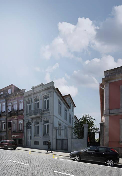 Álvares Cabral House: Casas clássicas por paulosantacruz.arquitetos