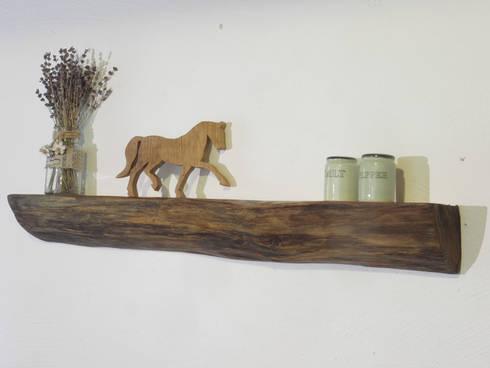 Wandkonsole Holz wandkonsole alte eiche schöner wohnen mit holz homify