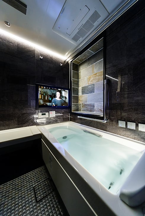 Phòng tắm by 一級建築士事務所haus