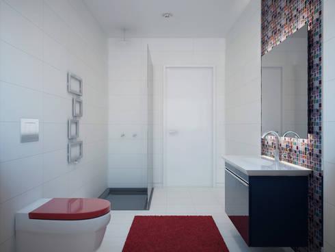Instalação sanitária comum:   por Judite Barbosa Arquitetura