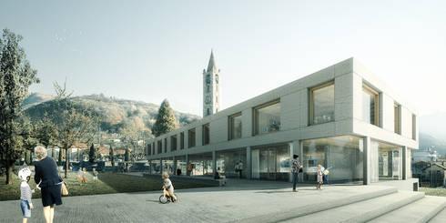Primary school in Tesserete, Switzerland:   por Rosario Badessa