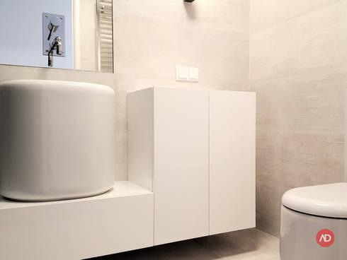 Remodelação Apartamento: Casas de banho modernas por ARCHDESIGN | LX