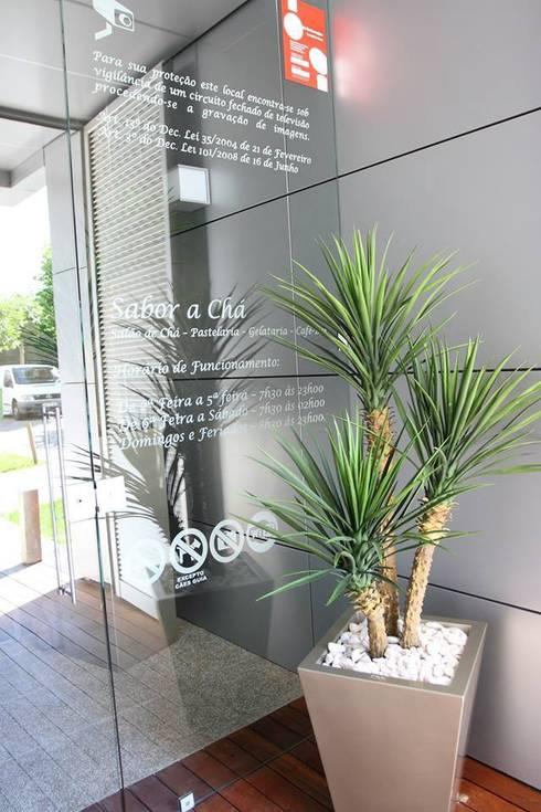 Sabor a Chá - Vizela: Espaços de restauração  por Engebasto - Atividades de Engenharia e Arquitetura, Lda