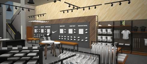 Retail Deportivo // Concepto:  de estilo  por Bahía de Conceptos