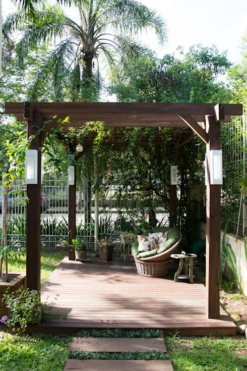 22 Desain Taman Kecil Untuk Lahan Terbatas