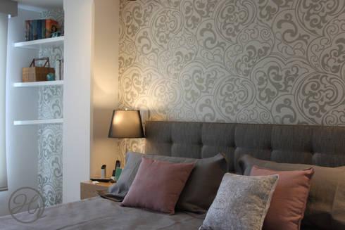 Habitacion Principal: Recámaras de estilo moderno por Home Reface - Diseño Interior CDMX