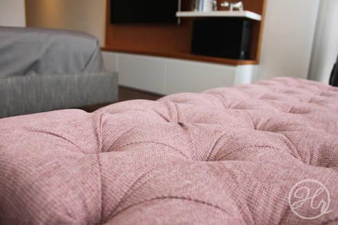 Pent House en Bogota: Recámaras de estilo moderno por Home Reface - Diseño Interior CDMX