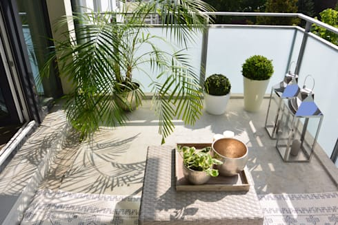 die balkongestalter balkon hh 9qm homify. Black Bedroom Furniture Sets. Home Design Ideas