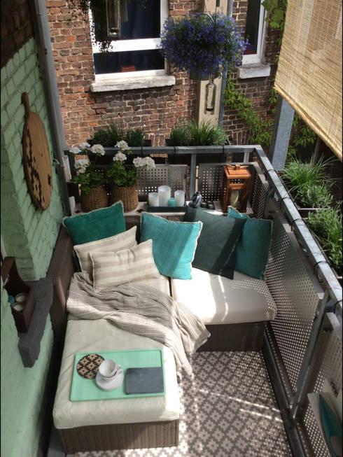балконы в . Автор – DIE BALKONGESTALTER