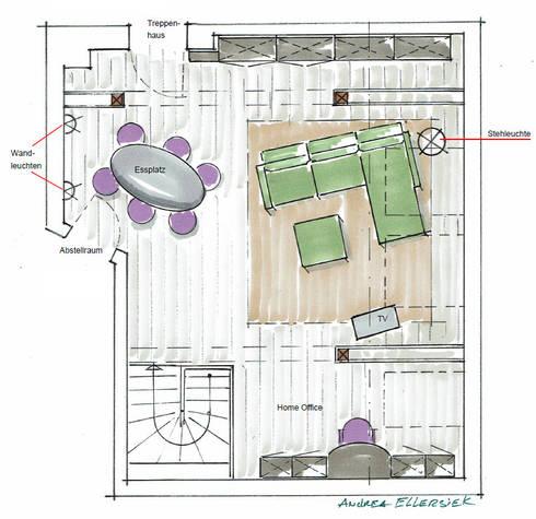 Wohnen Unter Der Dachschrage Von More Vision Innenarchitektur