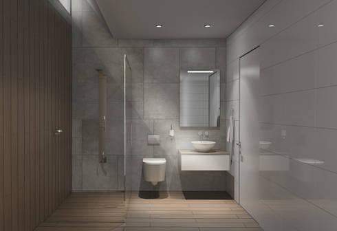 NOVE: Baños de estilo moderno por MAT Latinamerica