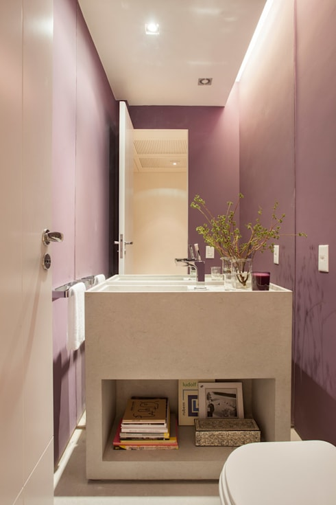 浴室 by Gisele Taranto Arquitetura