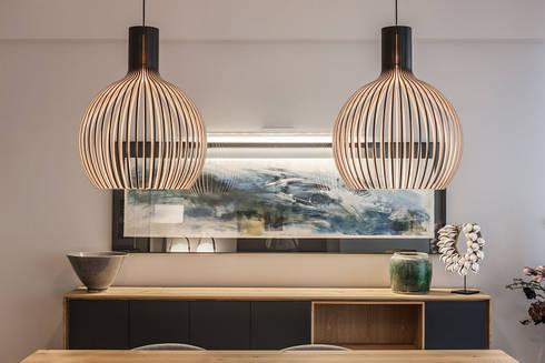 lmparas para el comedor comedores de estilo moderno de urbana