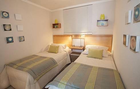 Habitación infantil: Recámaras de estilo  por VdecoracionesCL