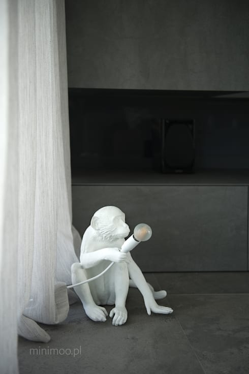 www.minimoo.pl: styl , w kategorii Salon zaprojektowany przez MINIMOO Architektura Wnętrz