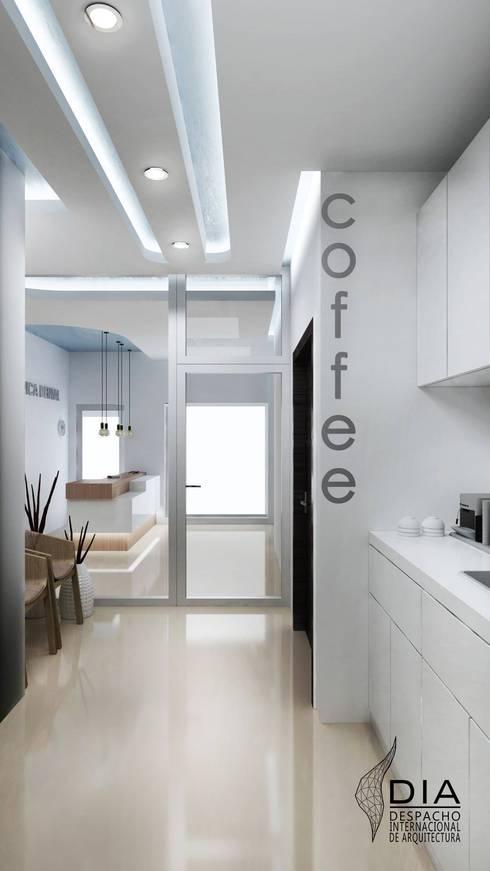 Cafeteria: Oficinas y tiendas de estilo  por DIIA