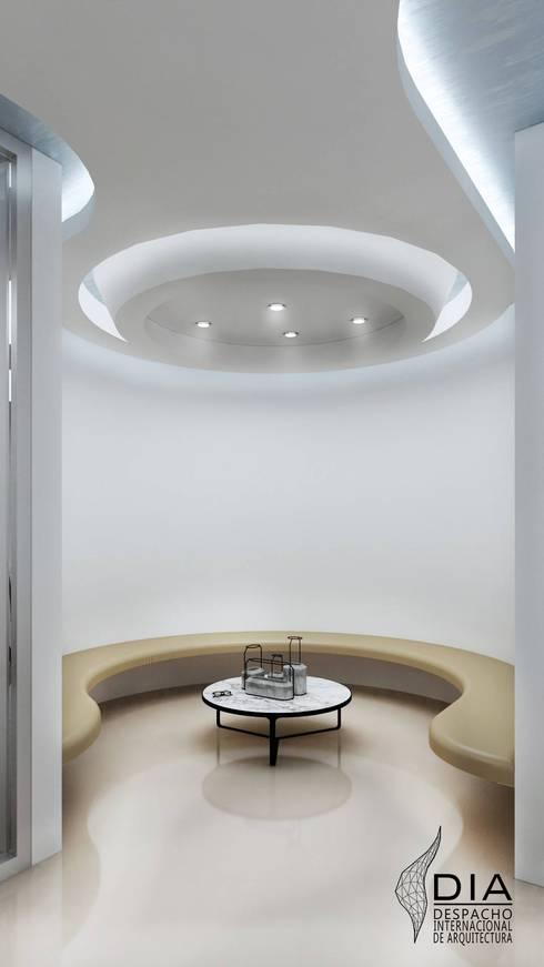 Sala de espera. : Oficinas y tiendas de estilo  por DIIA