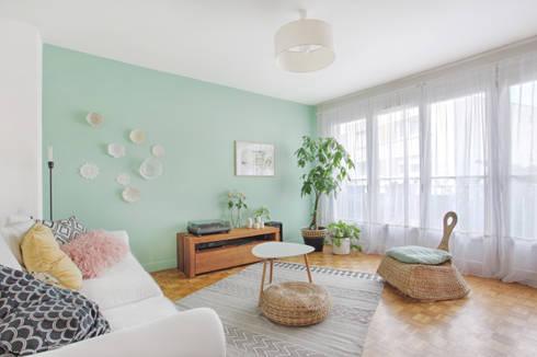 un salon boh me par mon oeil dans la deco homify. Black Bedroom Furniture Sets. Home Design Ideas