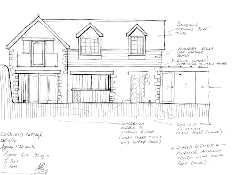 Early sketch proposal:   by ARB Architecture