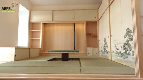 soggiorno in stile giapponese shoji di arpel | homify - Soggiorno Stile Zen 2