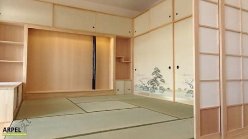 Soggiorno in stile giapponese shoji di arpel homify for Stanza giapponese