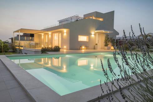 Casa cf di arch francesca timperanza homify for Casa stile minimalista