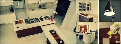 Mr & Mrs Du Plessis Project—The Hills Estate, Pretoria: modern Kitchen by Ergo Designer Kitchens and Cabinetry