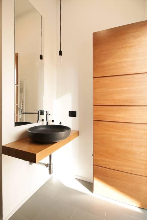 minimalistische Badkamer door studioSAL_14