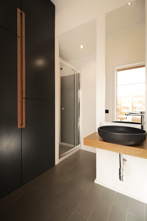 Baños de estilo  por studioSAL_14