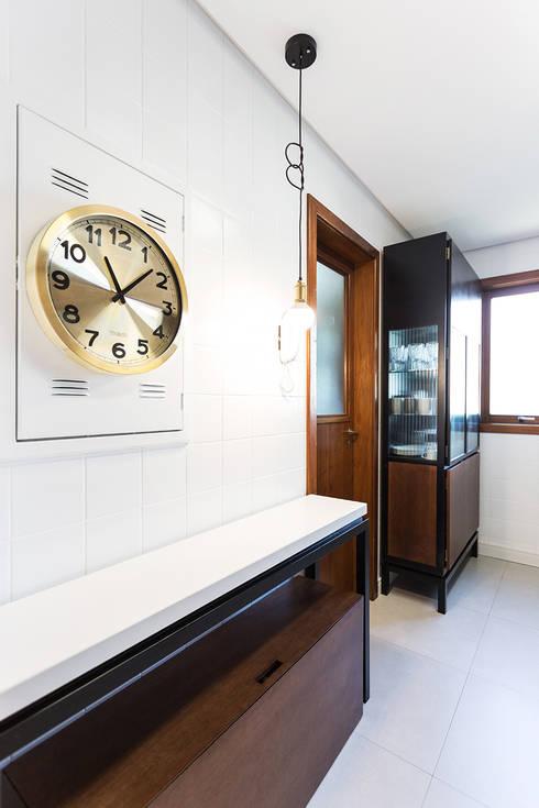 Projekty,  Kuchnia zaprojektowane przez Ateliê 7 arquitetura e design integrados