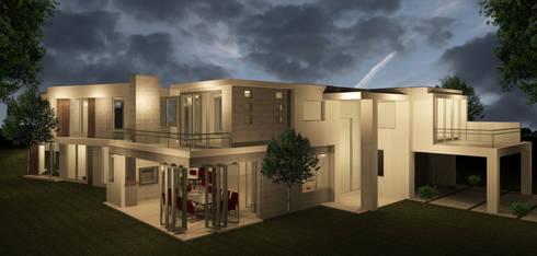 HOUSE SOONDARJEE:   by T4 Architects