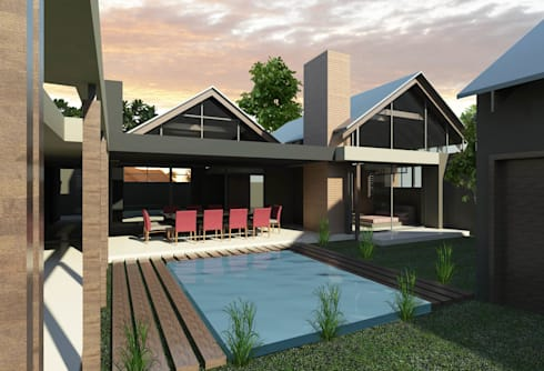 HOUSE STEENKAMP:   by T4 Architects