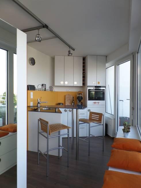 Cocinas de estilo  por Cathrin Büsse Innenarchitektur