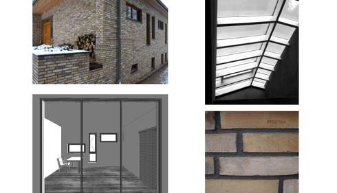 ziegelhaus mit atrium by hausbau architekt homify. Black Bedroom Furniture Sets. Home Design Ideas