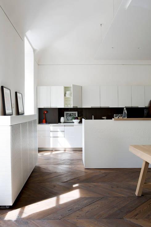 BASILICA: Cucina in stile  di Studio Fabio Fantolino