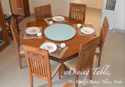 Residential Images: modern Dining room by Dzine Route