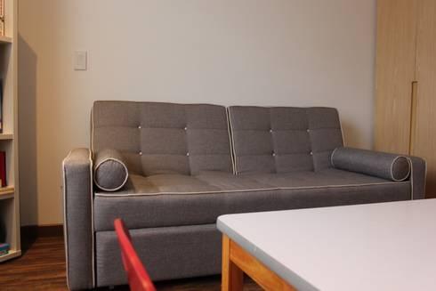 Family Room: Recámaras infantiles de estilo moderno por Home Reface - Diseño Interior CDMX