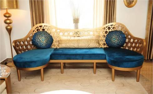 RESIDENTIAL: modern Living room by QBOID DESIGN HOUSE