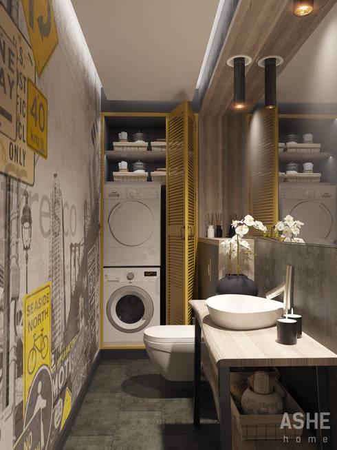 Kamar Mandi by Студия авторского дизайна ASHE Home