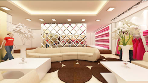 Design Work: modern Living room by The Silversea